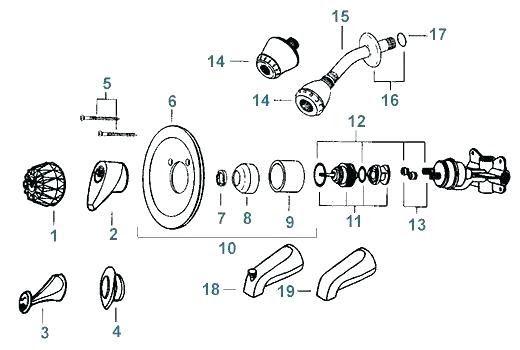 Delta Shower Faucet Assembly Diagram Delta Shower Valve Parts Psmpithaca Org Delta Faucet