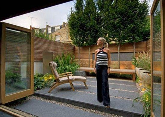 Cheap Landscaping Ideas For Back Yard Modern London Backyard
