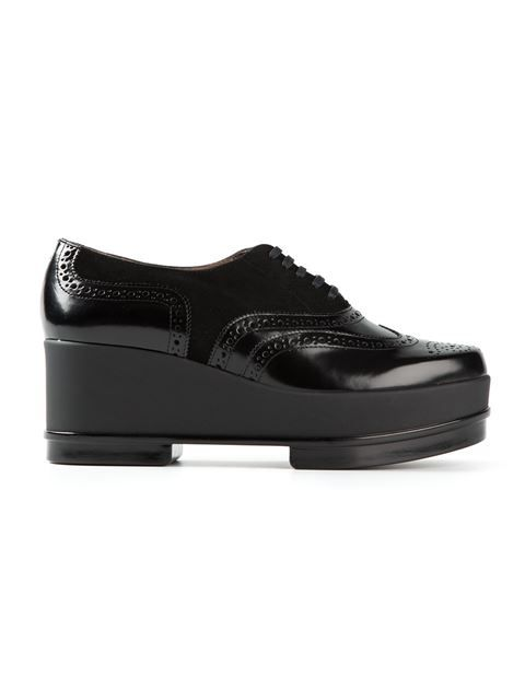 17a1ef630fd Robert Clergerie Platform Lace-up Shoes - Wok-store - Farfetch.com ...