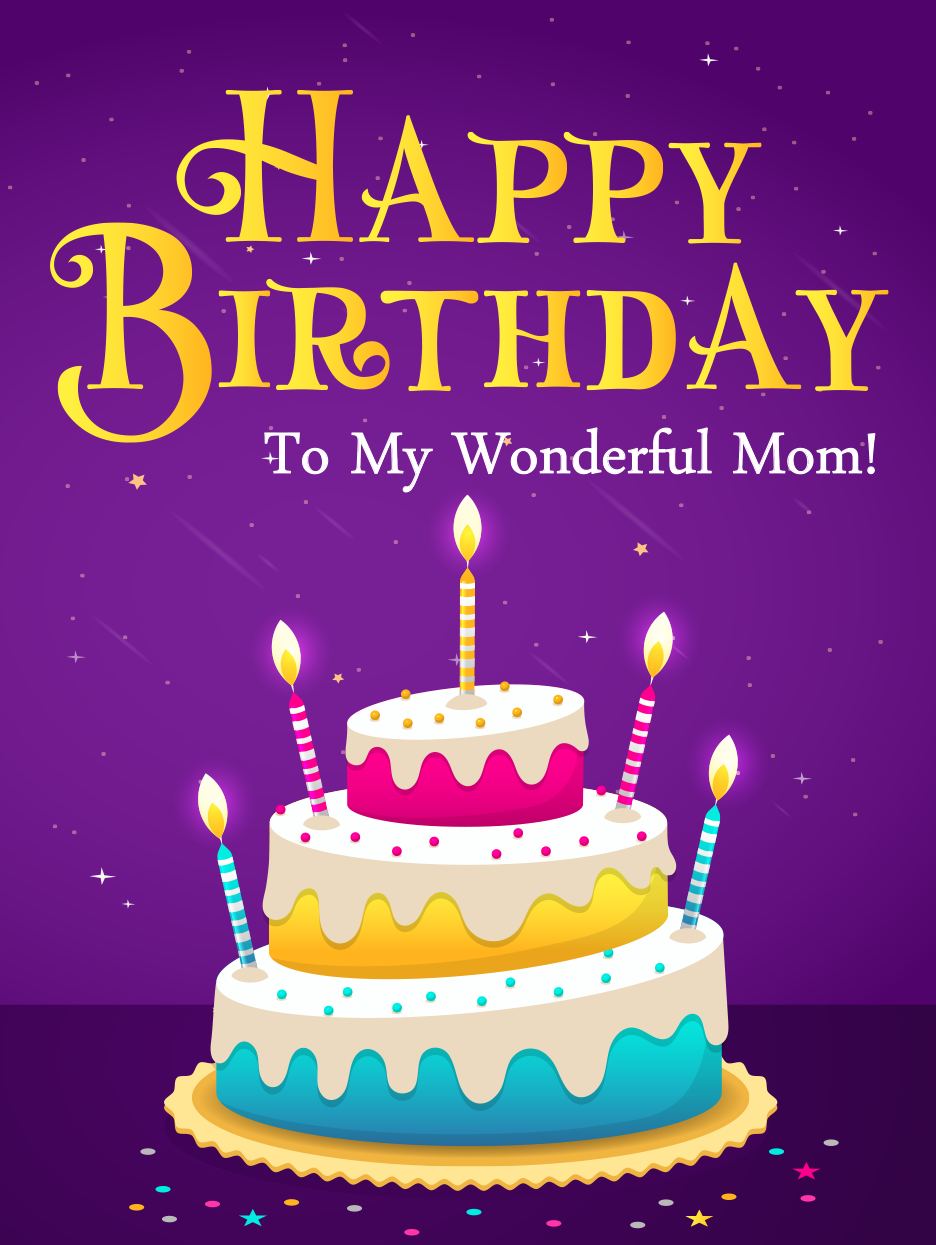 Pure Love Happy Birthday Mom Cards Birthday Greeting Cards By Davia Birthday Cards For Mother Happy Birthday Mom Happy Birthday Mom Cards