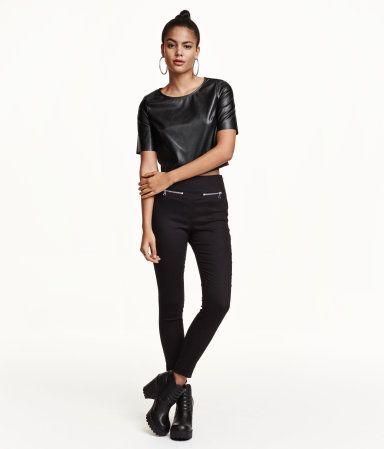 H&M Stretch-housut 14,99