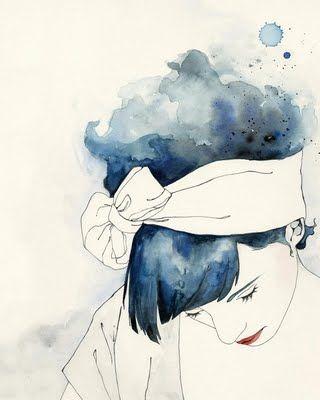 Tender To The Blues By Emma Leonard Comment Peindre Art Et