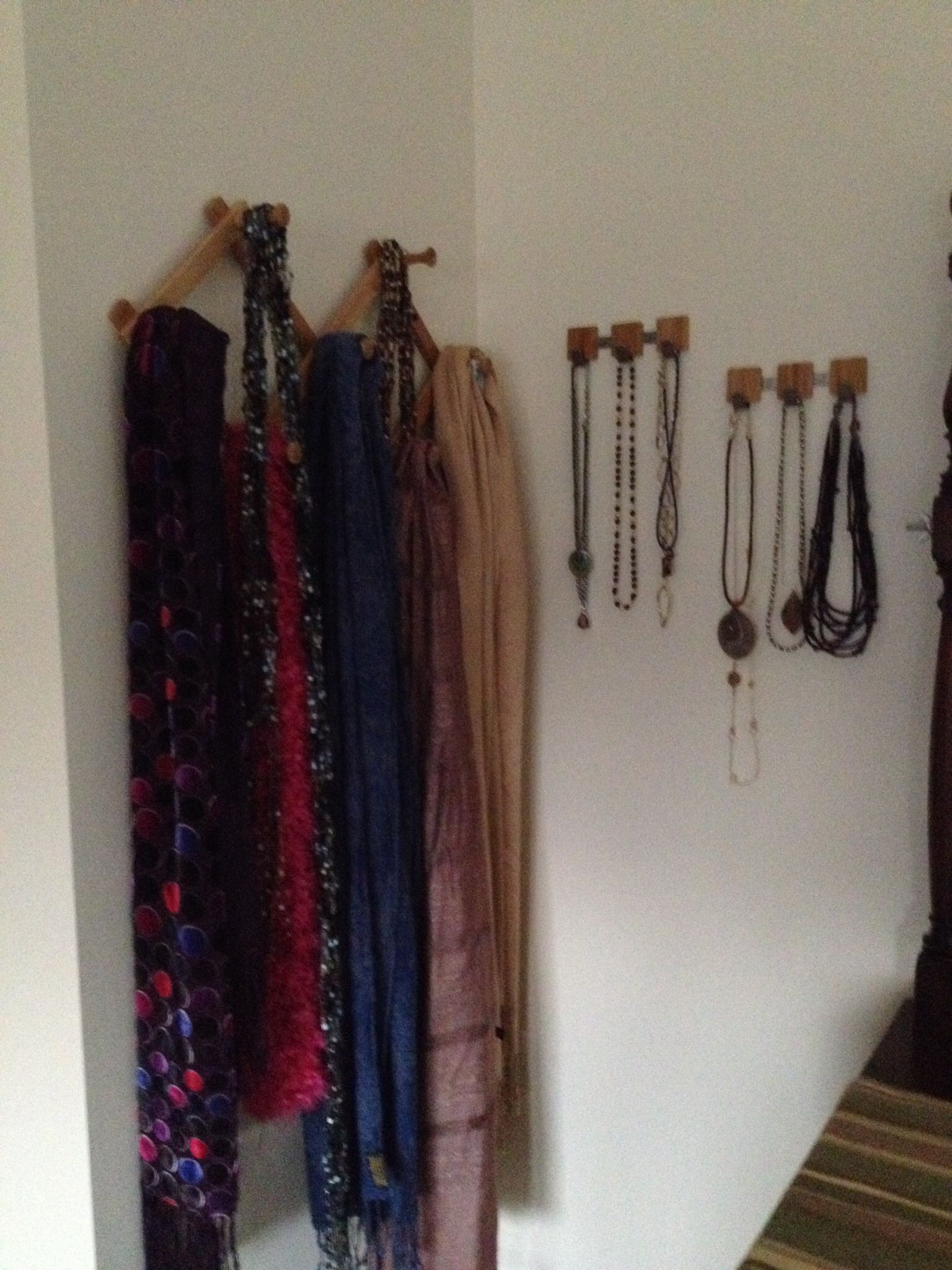 Container Store Solution For Necklaces And Scarves