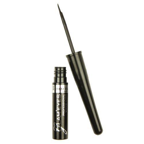 f78662653aa Amazon.com: Rimmel Glam Eyes Liquid Liner, Black Glamour, 0.12 Fluid Ounce