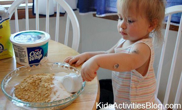 fun no-bake cake to make with kids