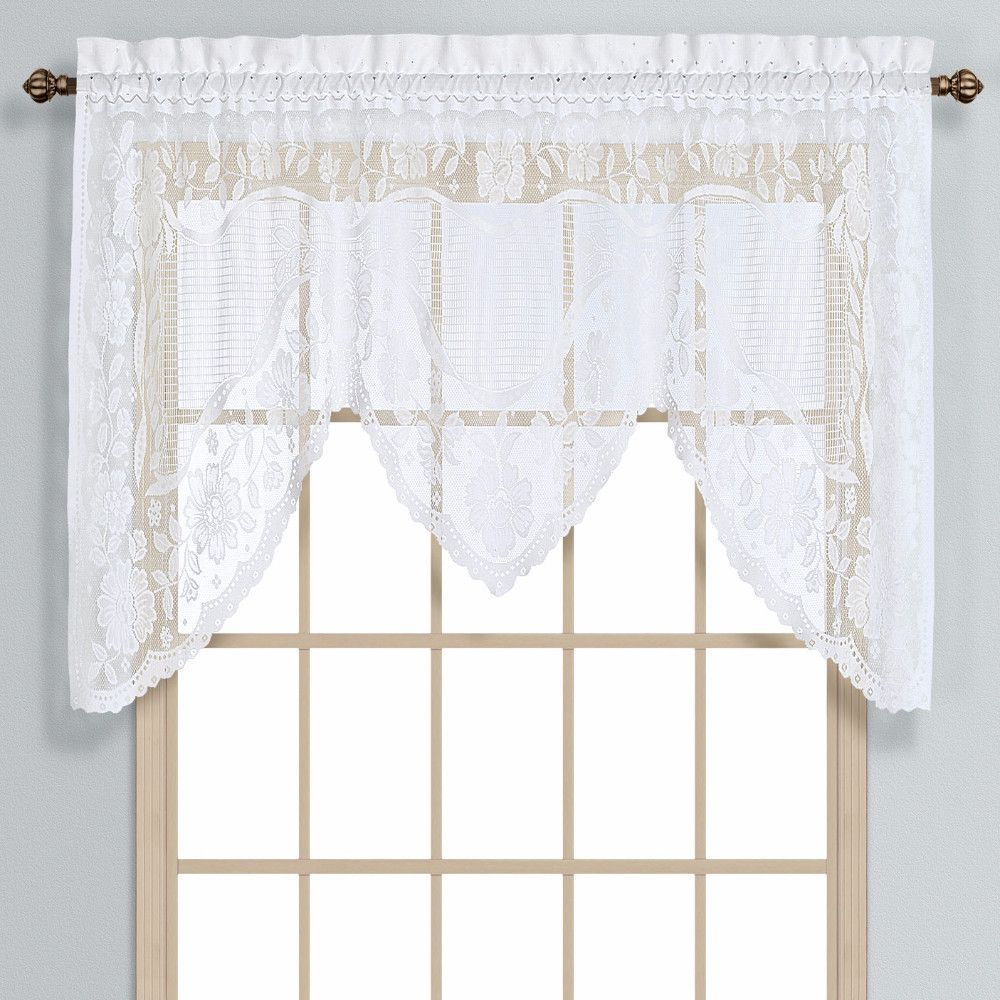 Windsor Lace Panel and Swagger | Products | Pinterest