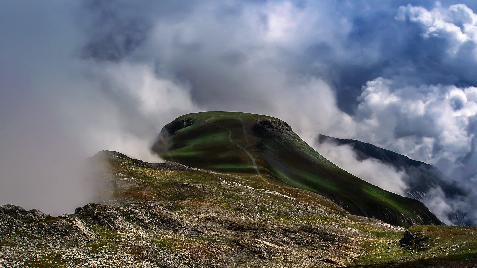 out of the clouds by Antoine Nobile on 500px