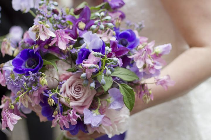 Bridal bouquet example, although prob bit too purple for you
