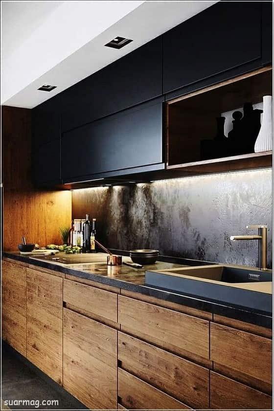 80 من اجمل صور مطابخ فخمة 2020 مطابخ بسيطة ومودرن مجلة صور Small Kitchen Plans Kitchen Decor Modern Modern Kitchen Design