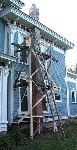 Homemade Scaffolding By Fixerupper Via Flickr Rent