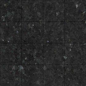 Textures Texture seamless | Black granite marble floor ...
