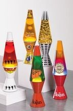 THE BEATLES LAVA LAMPS From Tuesday Morning $14.99