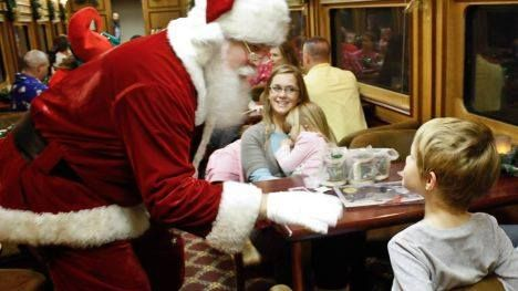 Riders Can Regain Their Belief In Santa While Winding Through The Beautiful Smoky Mountains At The Gre With Images Polar Express Train Ride Polar Express Train Train Rides