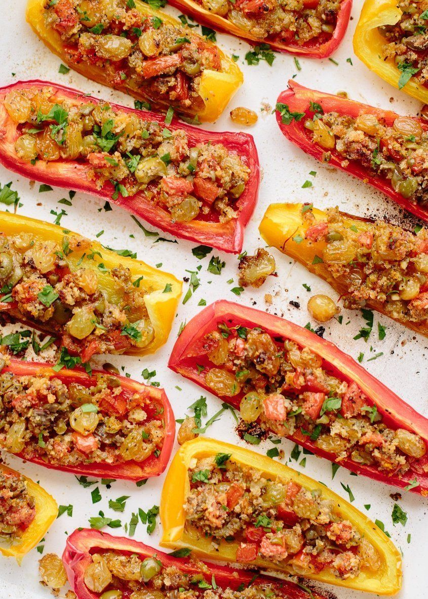 Spanish Tapas Peppers Recipe Stuffed Peppers Tapas Recipes