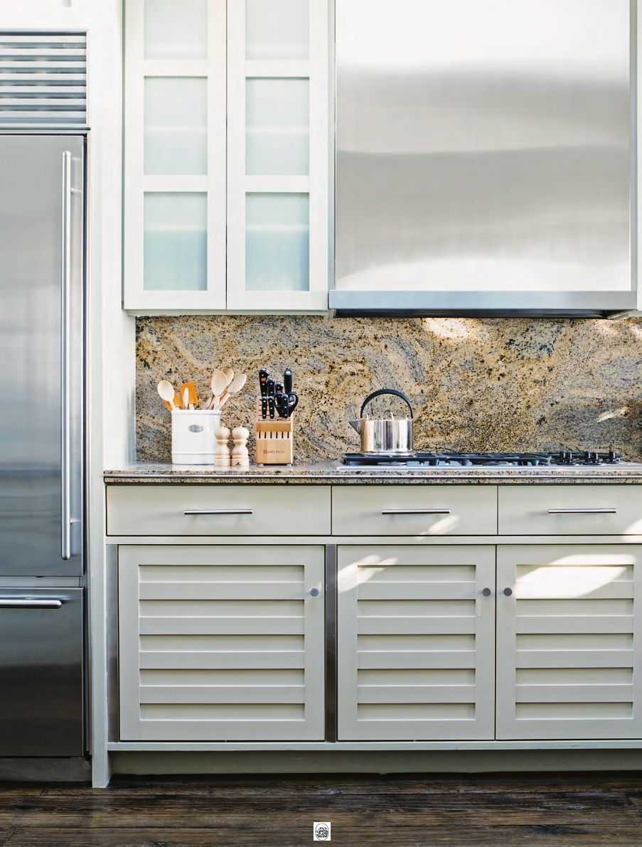Beautiful Kitchen Featured In The New Book Coastal Modern