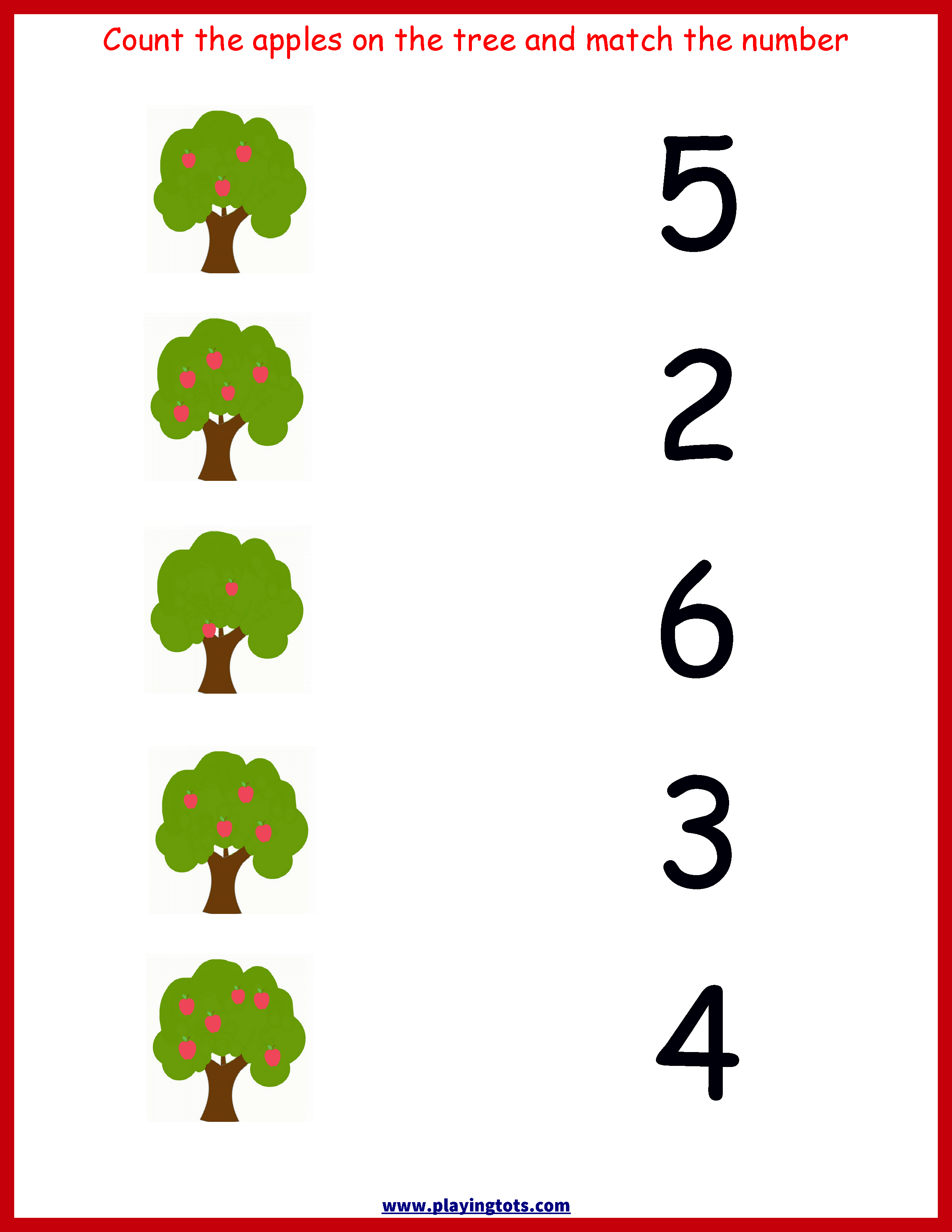 Printable For Toddlers And Preschoolers In