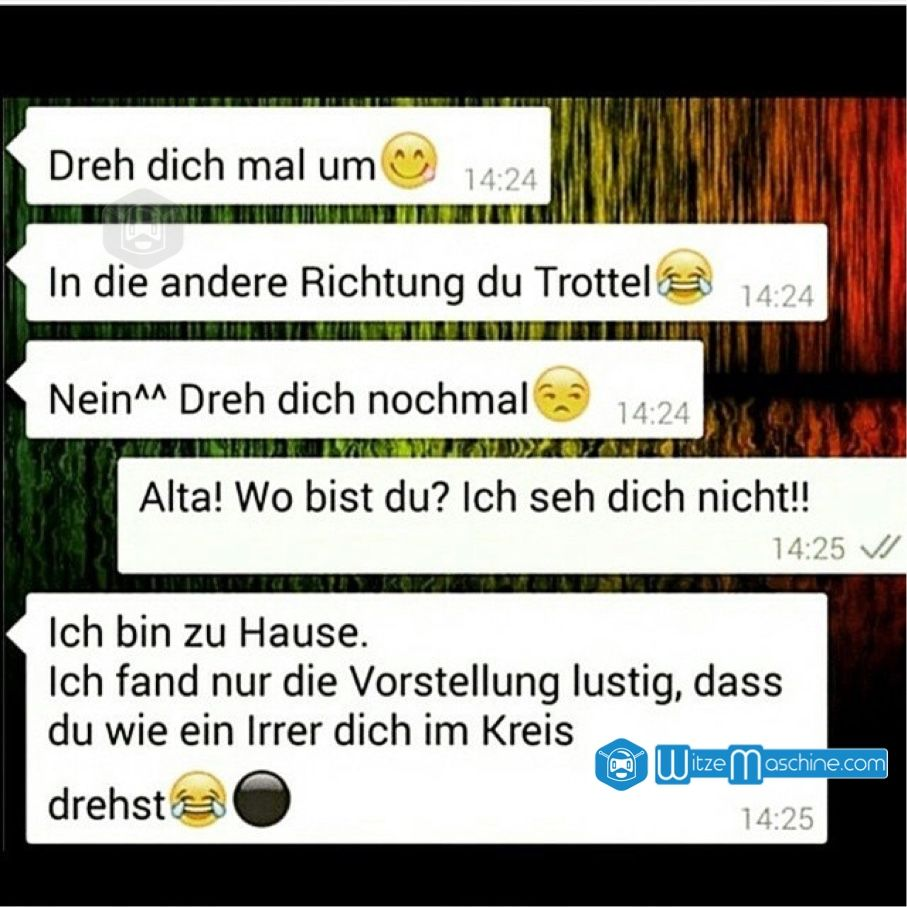 Lustige WhatsApp Bilder und Chat Fails 94 , Umdrehen