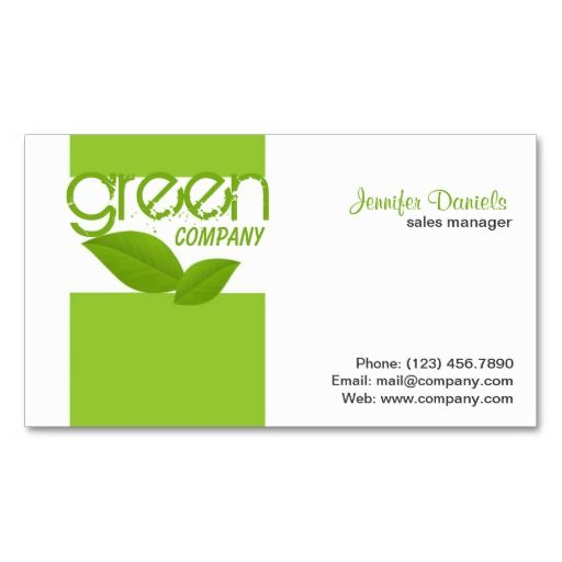Eco Friendly Green Activities Business Card Templates Green Activities Printing Business Cards Eco Friendly Business Cards