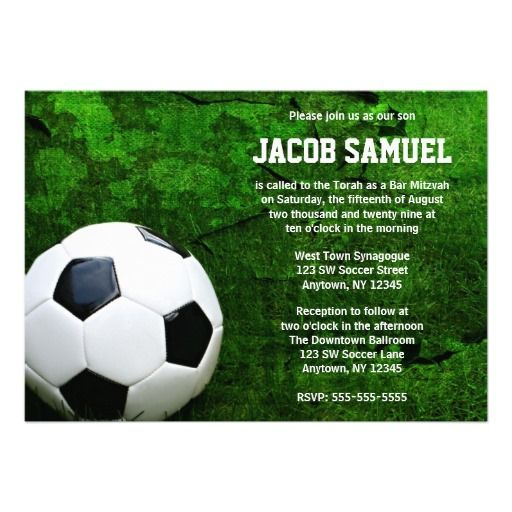 ==>Discount          Soccer Ball Bar Mitzvah Invites           Soccer Ball Bar Mitzvah Invites in each seller & make purchase online for cheap. Choose the best price and best promotion as you thing Secure Checkout you can trust Buy bestThis Deals          Soccer Ball Bar Mitzvah Invites ple...Cleck Hot Deals >>> http://www.zazzle.com/soccer_ball_bar_mitzvah_invites-161560450672147665?rf=238627982471231924&zbar=1&tc=terrest