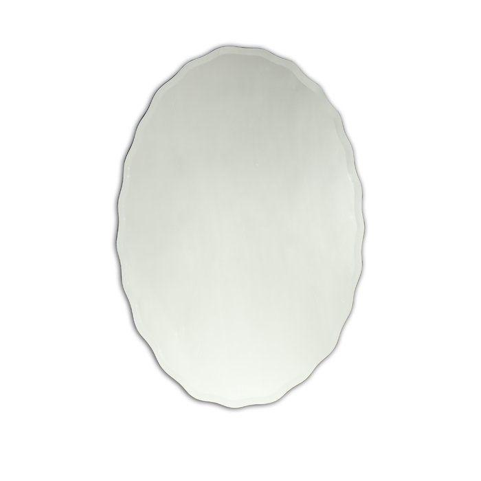 Denzer Modern Contemporary Venetian Bathroom Vanity Mirror Mirror Wall Frameless Mirror Bathroom Vanity Mirror