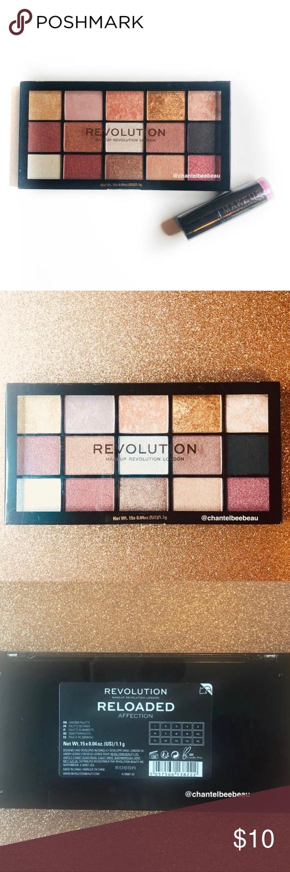 """3/15 Makeup Revolution """"Reloaded"""" Palette NWT Makeup"""