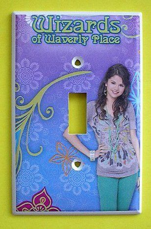 Wizards Of Waverly Place Alex Russo Single Switch Plate