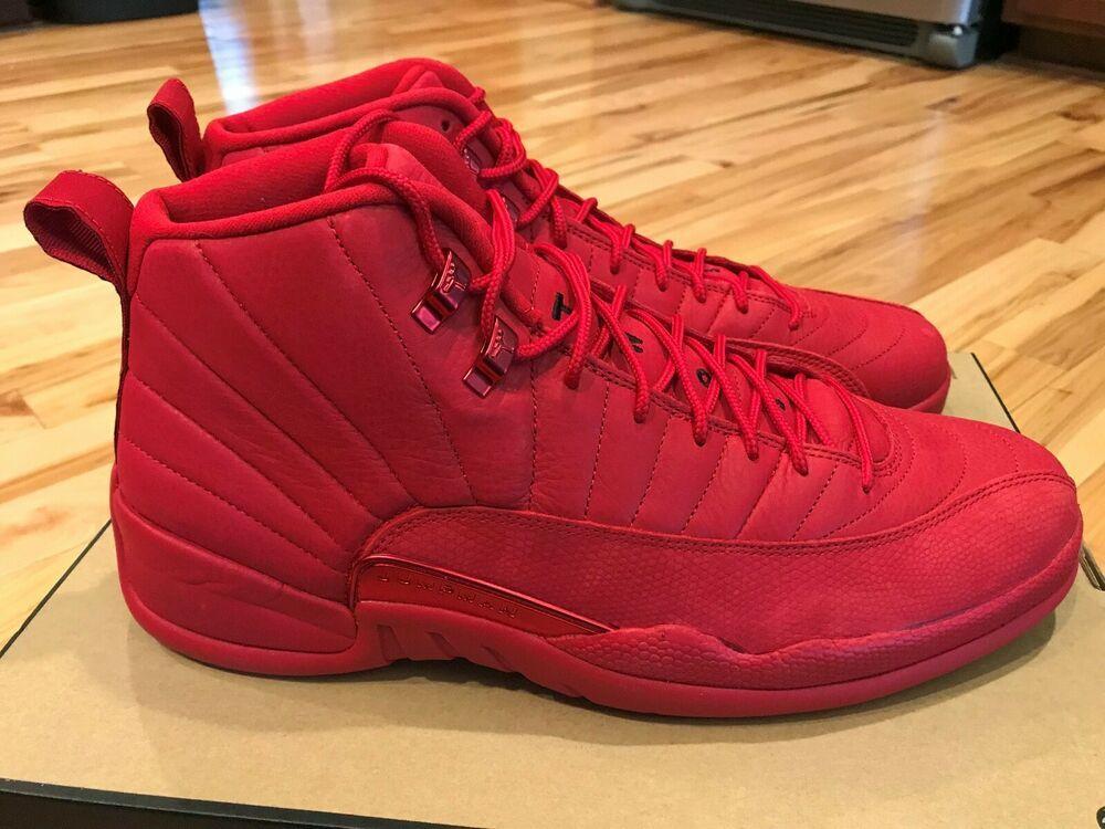Nike Air Jordan 12 Retro Gym Red Black