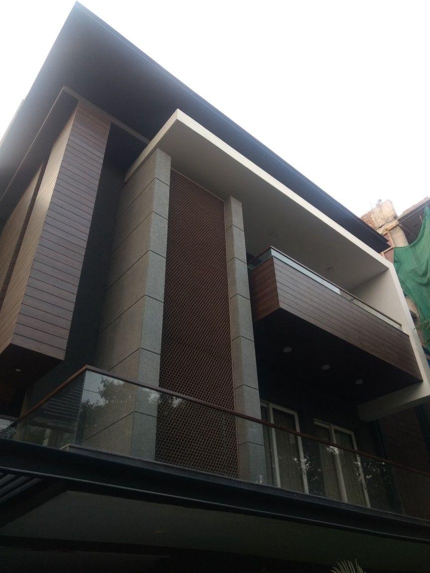 Exterior By Sagar Morkhade Vdraw Architecture 8793196382: Arch Building, Building Facade, Building
