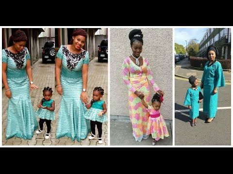 SEE LOVELY  MIND BLOWING MOTHER DAUGHTER ANKARA  ASOEBI STYLES