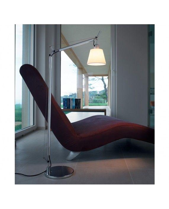 Artemide Tolomeo Basculante Lettura Floor Lamp Reading Lamp Floor Furniture Floor Lamp