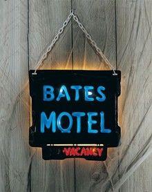 Bates Motel Halloween Decoration