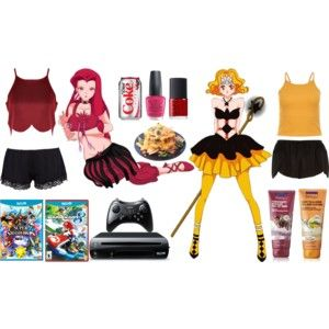 Pretty Soldier Sailor Moon Death Busters Sleepover: Eudial and Mimete