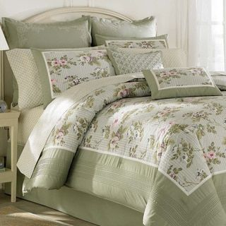 Laura Ashley Caroline 4-piece Comforter Set by Laura Ashley ... : laura ashley caroline quilt - Adamdwight.com
