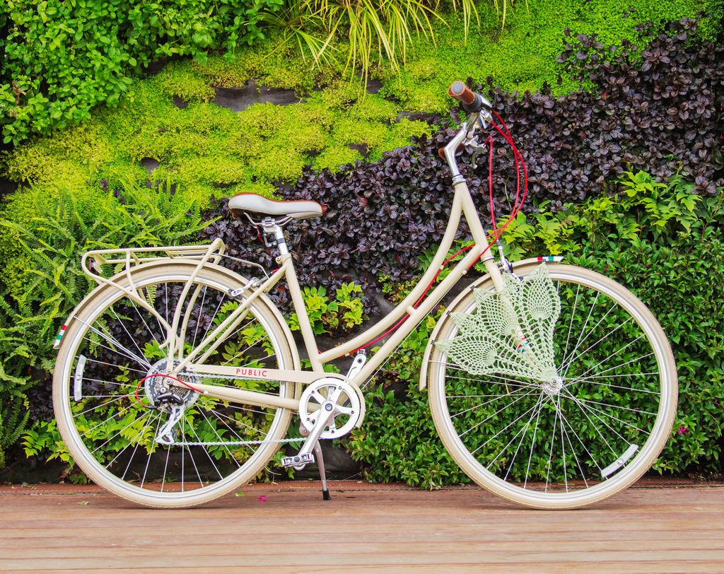 Crochet Bicycle Skirt Guard jigsaw puzzle in Puzzle of the
