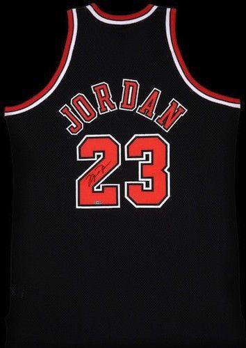 dcf5887e0f5 Michael Jordan Signed Authentic Alternate Bulls Jersey UDA - Game Day  Legends
