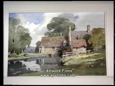 Someday I will be able to do this. He makes it look completely effortless. Love the washes, love the shadows especially. The Magic of Watercolour: James Fletcher-Watson