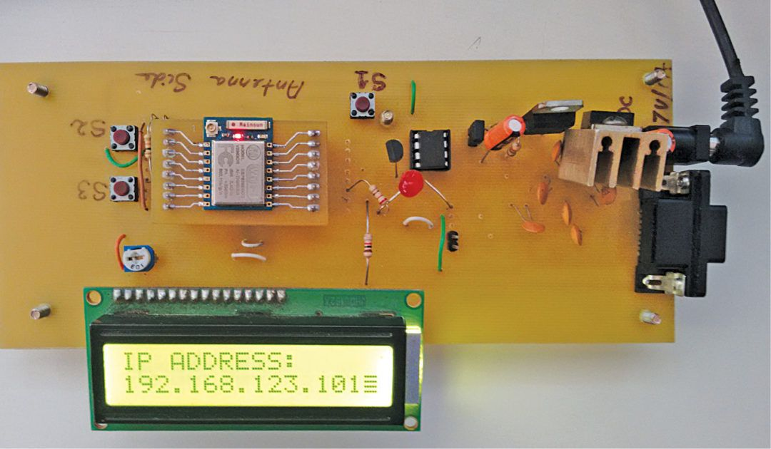 This ESP8266 based wireless web server project is built around an ...