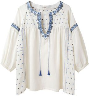 2d24df79624 ShopStyle: Suno / Embroidered Peasant Top | clothing to copy ...