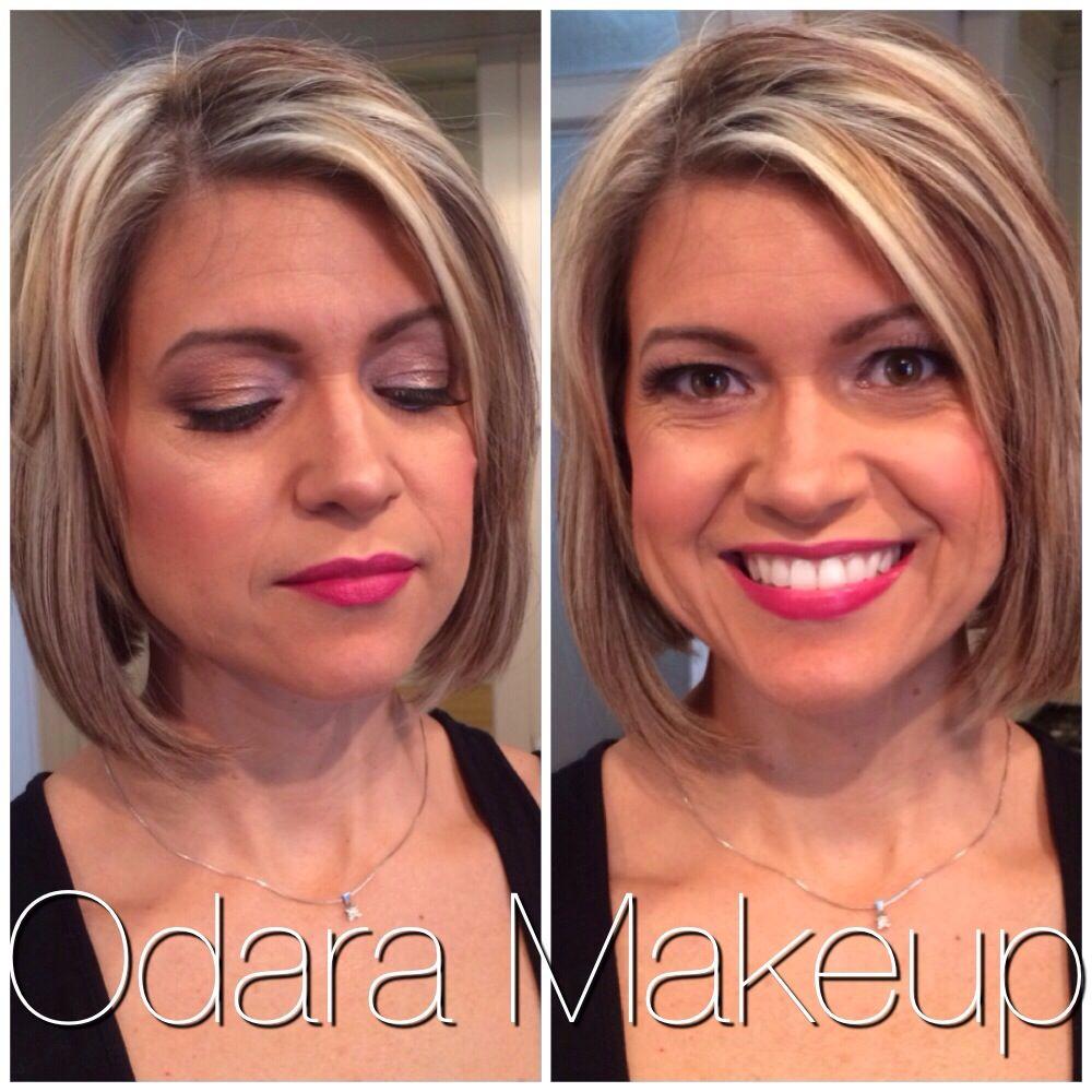 Glamour portrait makeup by ODARA Makeup!! Photography by Jennifer Mong photography
