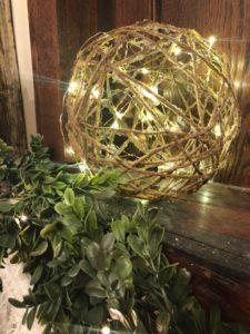 DIY Twine Balls - The Shabby Tree
