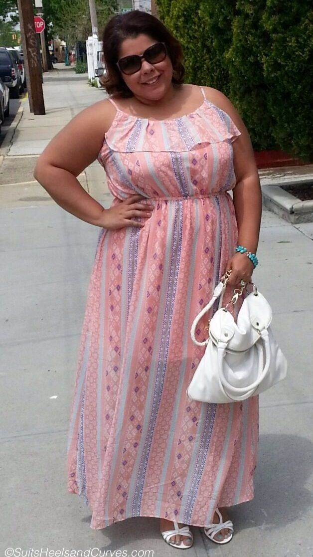 Excellent post on fashion lessons from mom and plus size maxi dresses