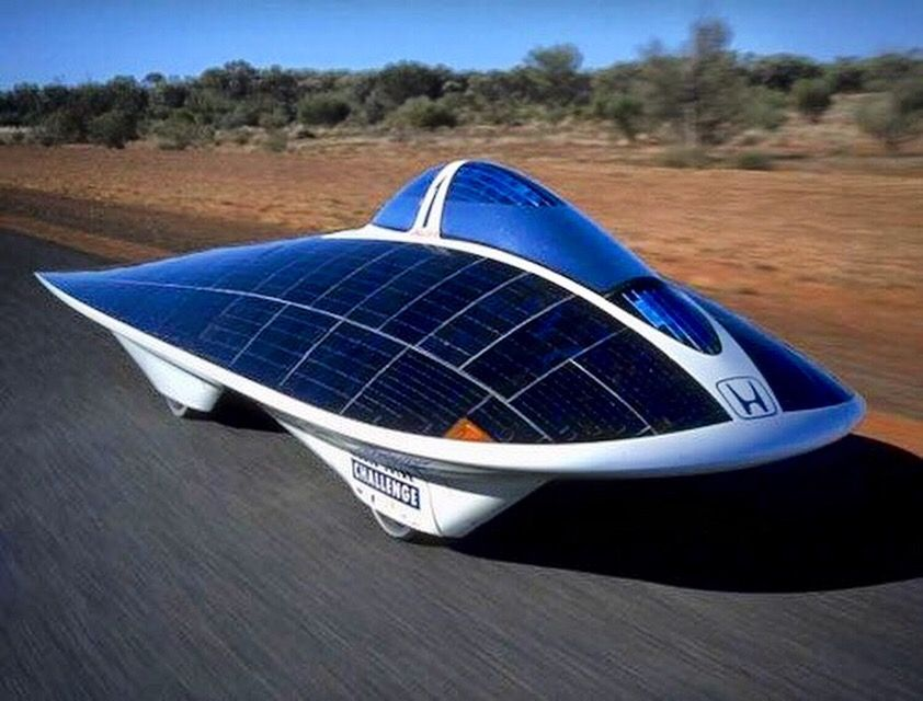 The Honda Dream Solar Car Solar Powered Cars Car