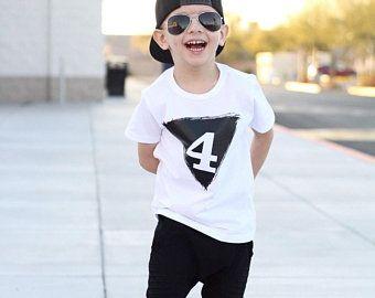 Cute Shirt For The Birthday Boy 4th Kids Girl