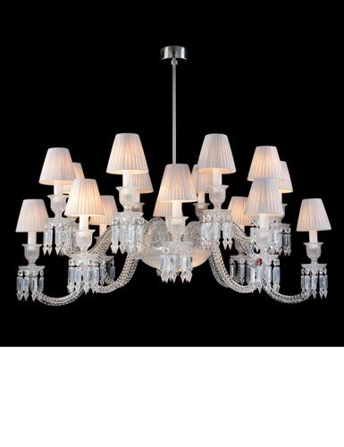 Baccarat Ellipse Chandelier-16 Light