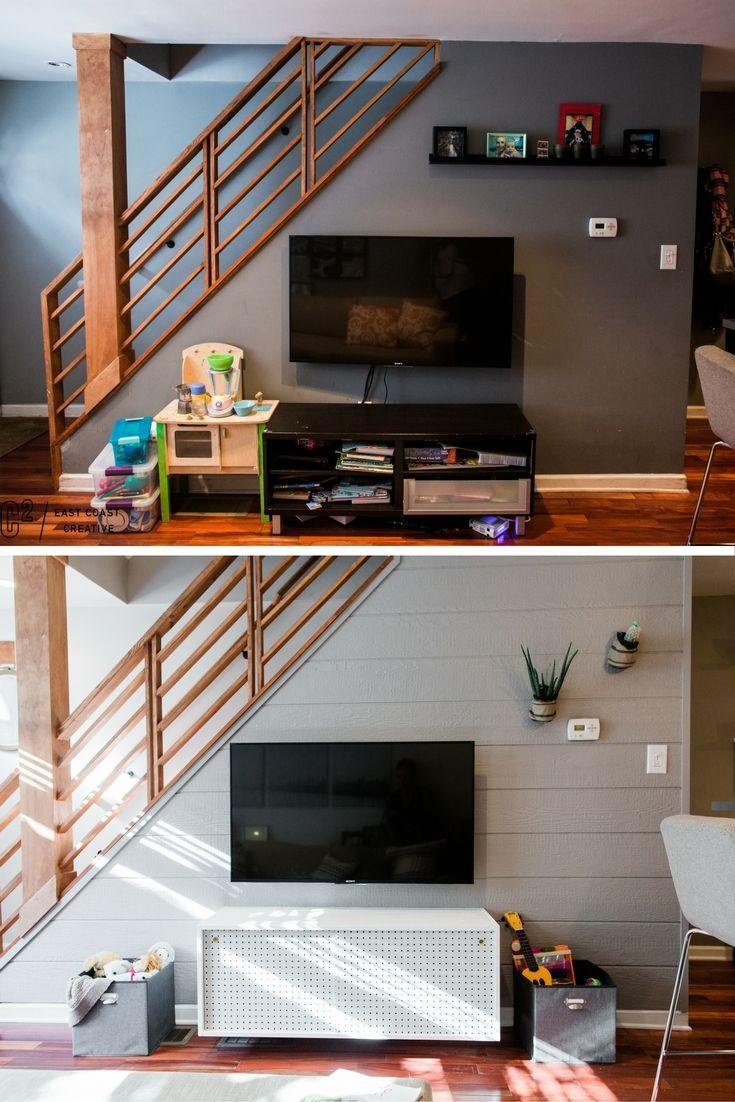 Best Diy Pegboard Storage Wall Small Bedroom Hacks Stair 400 x 300