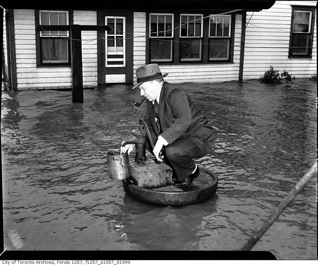 Hurricane Hazel Toronto 1954 My Mum Remembers This Event Hurricane Hazel Canada History Lake Ontario