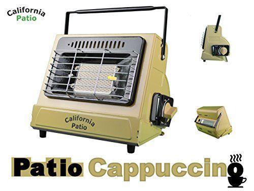 California Patio カリフォルニアパティオ カセットガスヒーター Color パティオカプチーノ 低温時装置ジェネレーター搭載 カセットガスストーブ仕様 ガスストーブ パティオ アウトドア