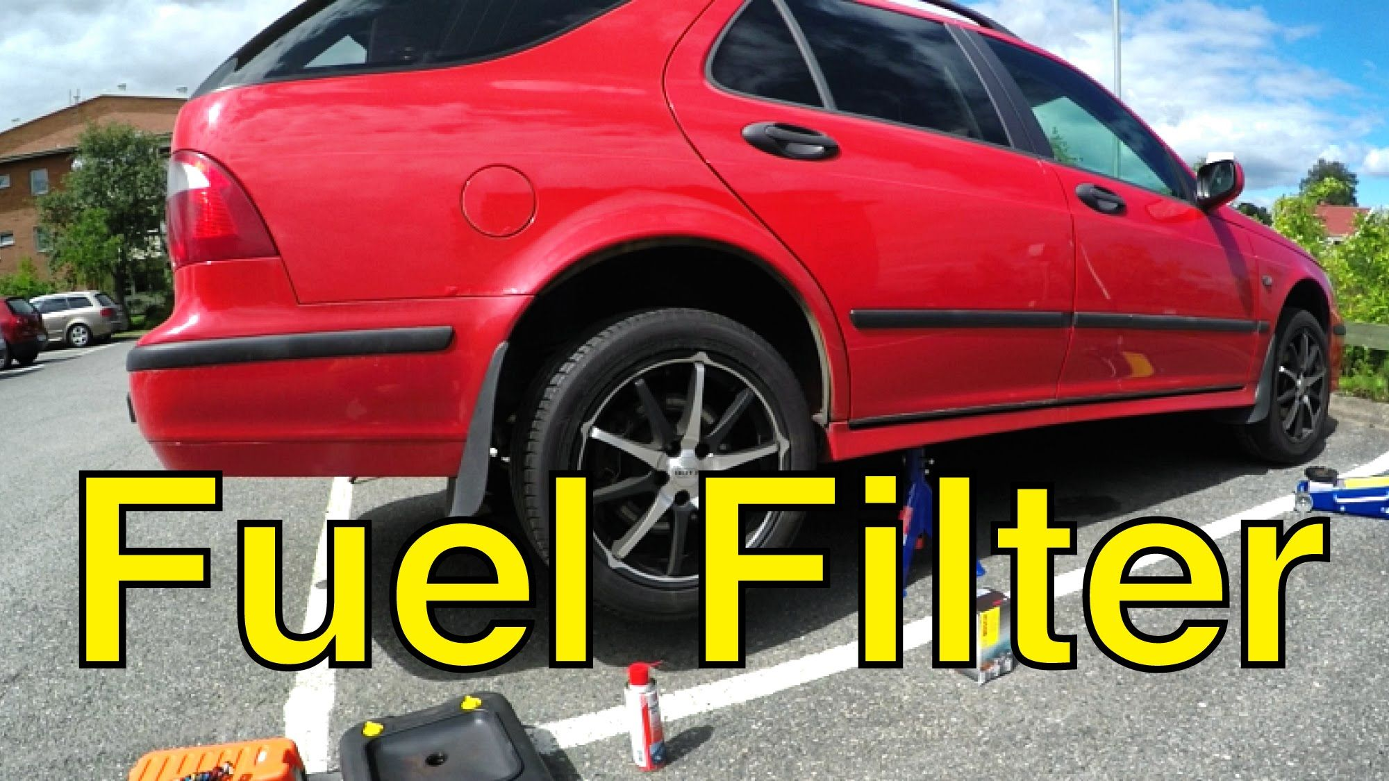 hight resolution of saab 9 5 diy fuel filter replacement trionic seven