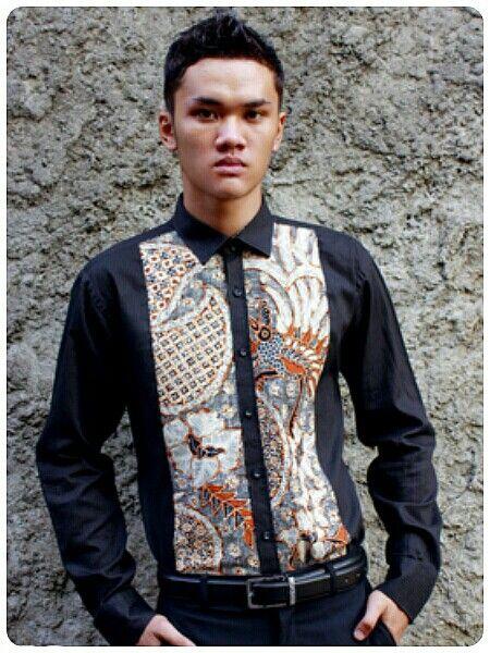 Mavazi summer menswear - Central Java batik classic pattern in simplicity
