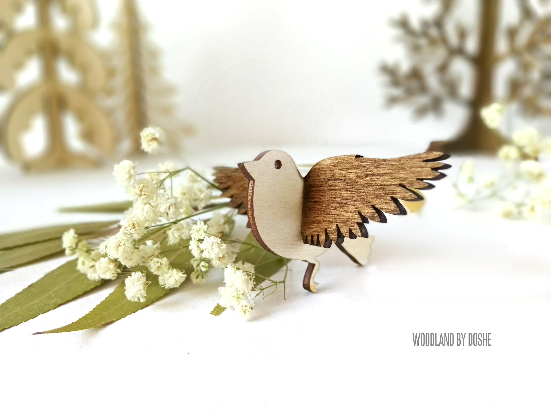 Laser Cut Bird Wooden Bird Cut Out Wood Bird Cut Out Mockingbird